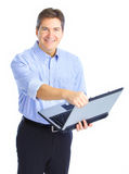 Homem de negócios Fotografia de Stock Royalty Free