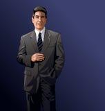 Homem de negócios ilustração stock
