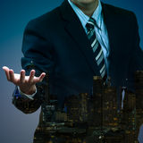Homem de negócios imagem de stock royalty free