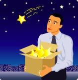 Homem de negócios ilustração royalty free