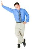 Homem de negócios adulto novo imagem de stock royalty free