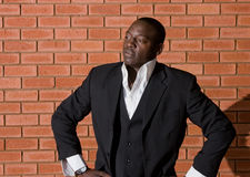 Homem de negócios africano Fotografia de Stock Royalty Free