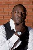 Homem de negócios africano Fotografia de Stock