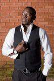 Homem de negócios africano Imagens de Stock