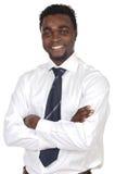 Homem de negócios africano atrativo Fotos de Stock Royalty Free