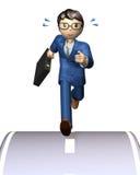 Homem de negócios alegre Fotografia de Stock