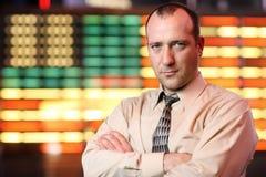 Homem de negócios americano foto de stock