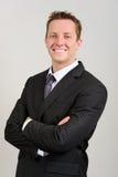 Homem de negócios amigável Imagem de Stock