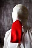 Homem de negócios anónimo Fotos de Stock