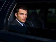 Homem de negócios ao ar livre Fotografia de Stock Royalty Free