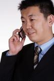Homem de negócios asiático Fotografia de Stock