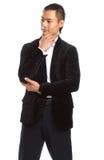 Homem de negócios asiático novo Fotos de Stock Royalty Free