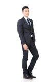 Homem de negócios asiático seguro imagens de stock