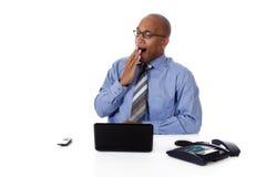 Homem de negócios atrativo novo do americano africano fotos de stock royalty free