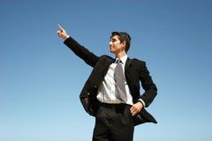 Homem de negócios bem sucedido fotografia de stock royalty free