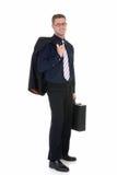 Homem de negócios bem sucedido Imagem de Stock