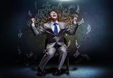 Homem de negócios bem sucedido Foto de Stock Royalty Free