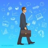 Homem de negócios bem sucedido Fotografia de Stock