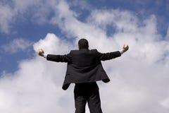Homem de negócios bem sucedido Foto de Stock