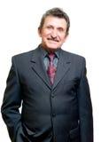 Homem de negócios bem sucedido da pessoa idosa Foto de Stock