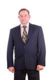 Homem de negócios bem sucedido da pessoa idosa foto de stock royalty free