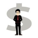 Homem de negócios bem sucedido Idea Imagem de Stock