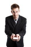 Homem de negócios caucasiano Imagens de Stock Royalty Free