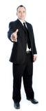 Homem de negócios caucasiano 40 anos velho Fotos de Stock Royalty Free
