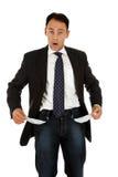 Homem de negócios caucasiano envelhecido médio fotografia de stock royalty free