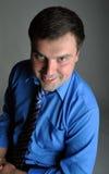 Homem de negócios cheio do retrato Fotos de Stock