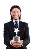 Homem de negócios com concessão da estrela Foto de Stock Royalty Free