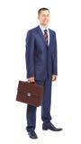 homem de negócios com uma carteira Imagem de Stock