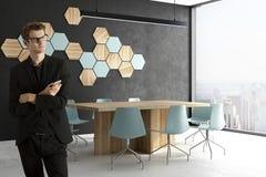 Homem de negócios In Conference Room Foto de Stock Royalty Free