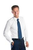 Homem de negócios confiável Imagem de Stock Royalty Free