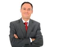 Homem de negócios confiável Imagem de Stock