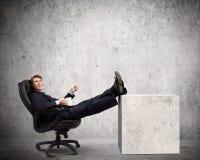 Homem de negócios confiável Fotografia de Stock