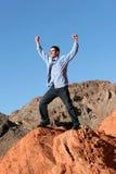 Homem de negócios confiável bem sucedido imagem de stock royalty free
