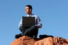 Homem de negócios confiável bem sucedido imagens de stock royalty free