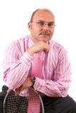 Homem de negócios considerável fotografia de stock royalty free