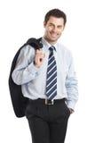 Homem de negócios considerável Fotografia de Stock