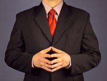 Homem de negócios da confiança Imagem de Stock Royalty Free