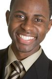 Homem de negócios de sorriso Fotografia de Stock Royalty Free