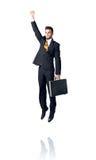 Homem de negócios de suspensão Foto de Stock