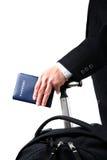 Homem de negócios de viagem Imagem de Stock