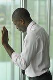 Homem de negócios deprimido Fotos de Stock Royalty Free