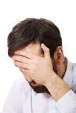 Homem de negócios deprimido novo Fotos de Stock