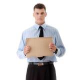Homem de negócios desempregado Imagens de Stock