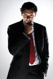Homem de negócios desviante Fotografia de Stock