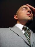 Homem de negócios distraído Imagens de Stock Royalty Free