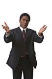 Homem de negócios do African-American Fotos de Stock Royalty Free